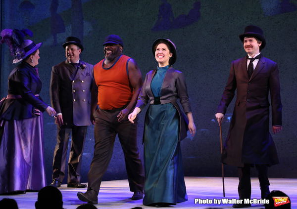 Phillip Boykin, Ruthie Ann Miles and David Turner