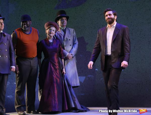 Brooks Ashmanskas, Phillip Boykin, Robert Sean Leonard and Jake Gyllenhaal