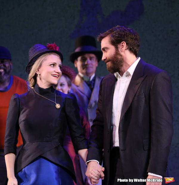 Annaleigh Ashford and Jake Gyllenhaal