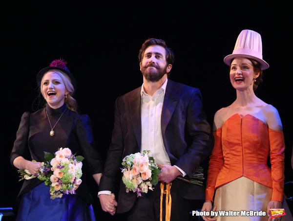Annaleigh Ashford, Jake Gyllenhaal and Erin Davie