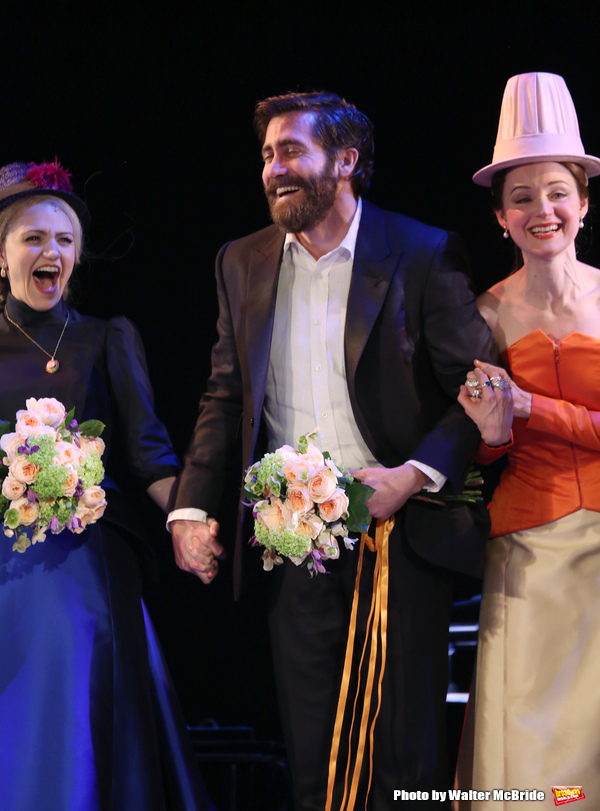 Photo Coverage: Jake Gyllenhaal & Annaleigh Ashford Take Opening Night Bows in SUNDAY IN THE PARK WITH GEORGE