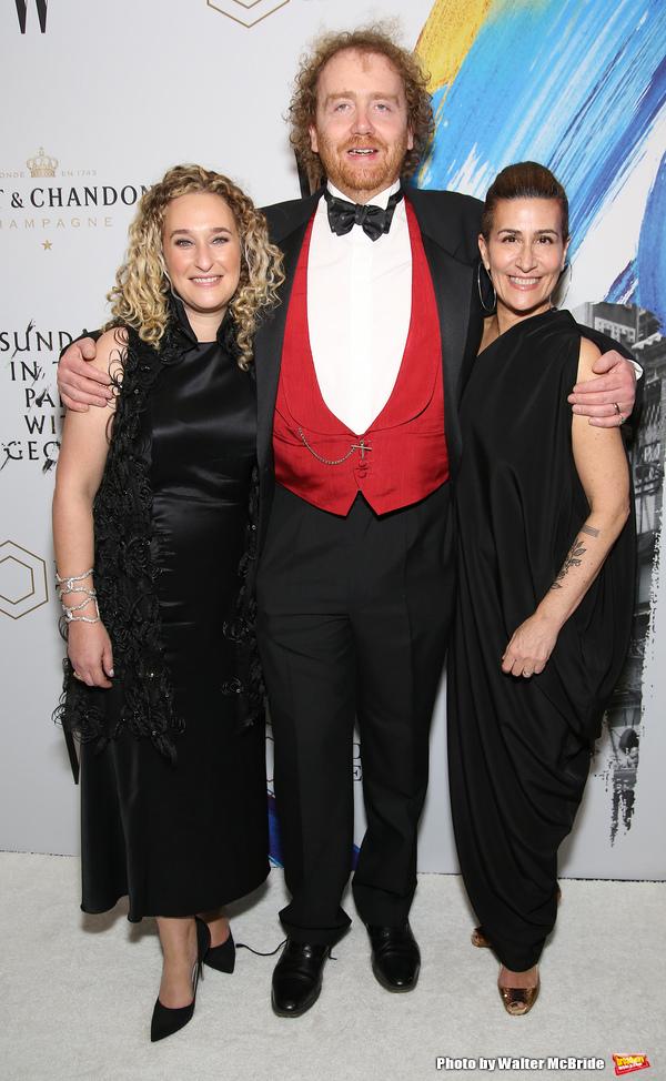 Riva Marker, Adam Speers, Jeanine Tesori Photo