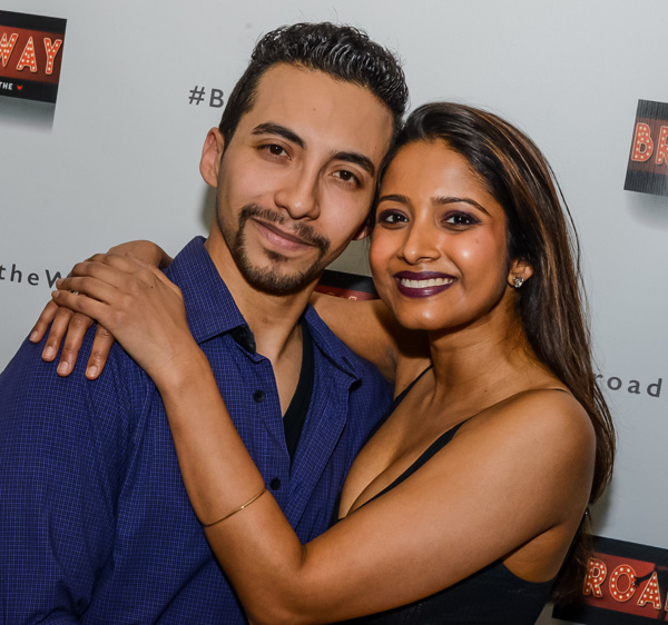 Andrew Mayer and Shoba Narayan Photo