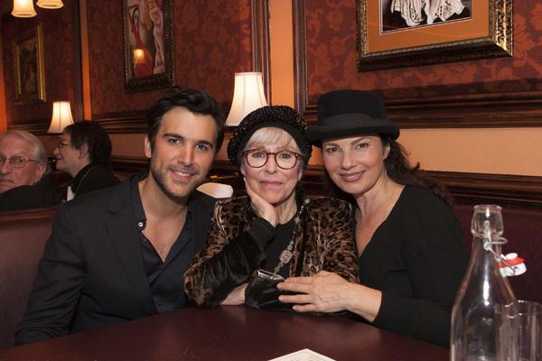 Juan Pablo Di Pace, Rita Moreno and Fran Drescher