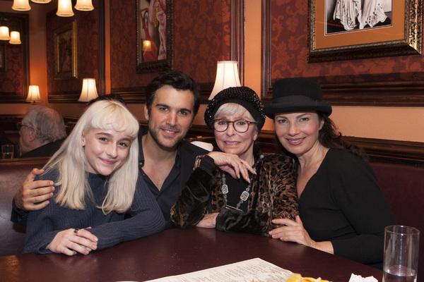 Sophia Anne Caruso, Juan Pablo Di Pace, Rita Moreno and Fran Drescher