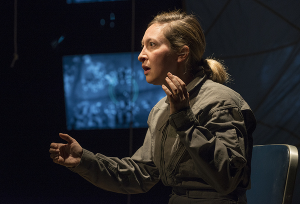 Photo Flash: First Look at Jessie Fisher in GROUNDED at Milwaukee Repertory Theater