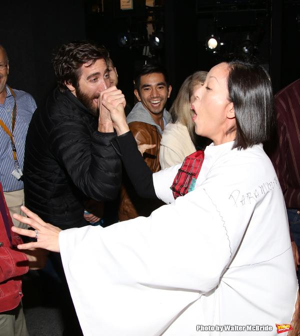 Jake Gyllenhaal and MaryAnn Hu