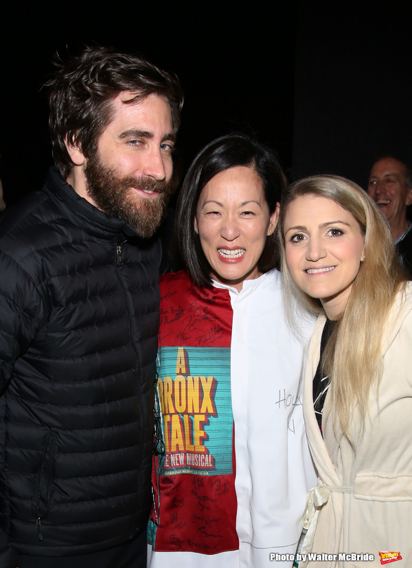 Jake Gyllenhaal, MaryAnn Hu and Annaleigh Ashford