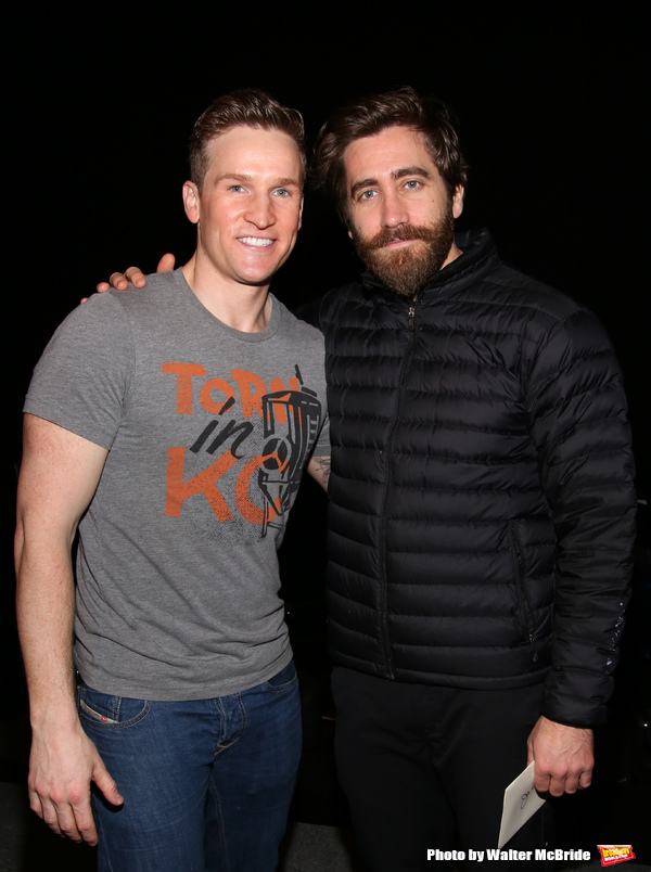 Claybourne Elder and Jake Gyllenhaal