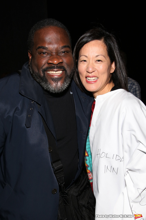 Phillip Boykin and MaryAnn Hu