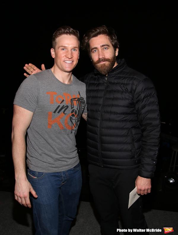Claybourne Elder and Jake Gyllenhaal