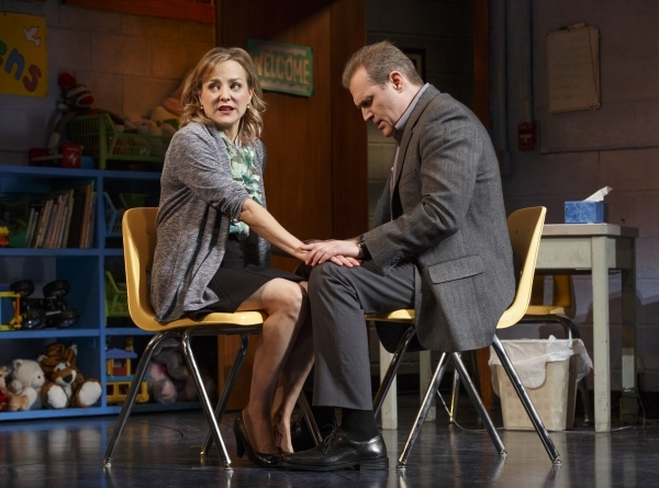 Geneva Carr and Marc Kudisch