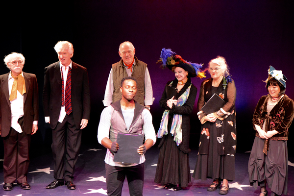 Gordon Stanley, Peter Land, Lenny Wolpe, Kristopher Thompson-Bolden, Alison Fraser, Tyne Daly and Ann Harada