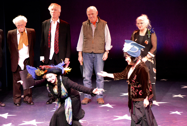 Gordon Stanley, Peter Land, Lenny Wolpe, Tyne Daly, Alison Fraser and Ann Harada