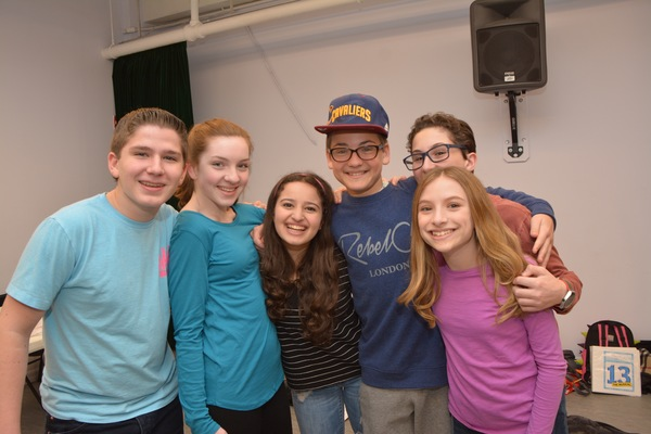 Joey Casali, Clara Young, Chloe Hechter, Lyle Lucas, Stephen Sayegh and Emily Rosenfeld