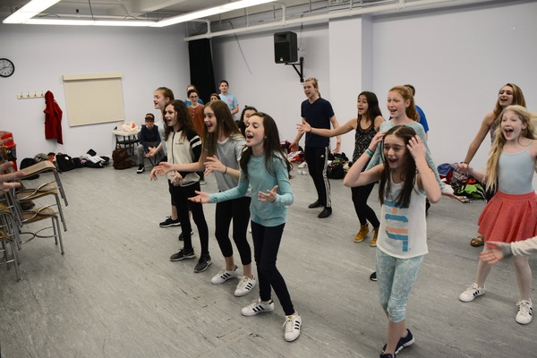 Photo Coverage: Retter Entertainment Rehearses 13 THE MUSICAL