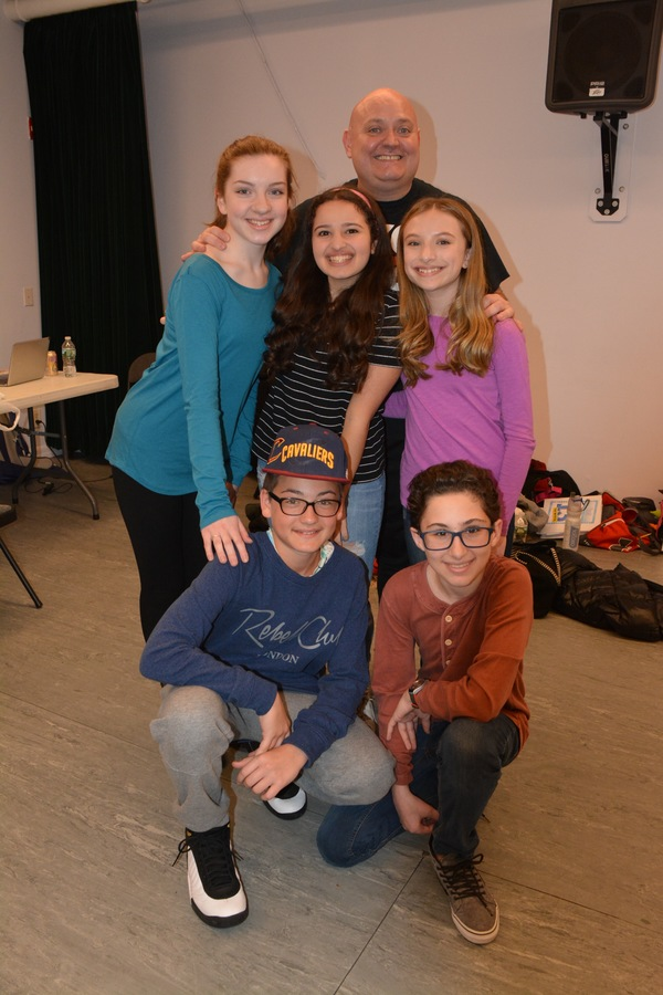 Thommie Retter, Michelle Moughan, Chloe Hechter, Emily Rosenfeld, Lyle Lucas and Stephen Sayegh