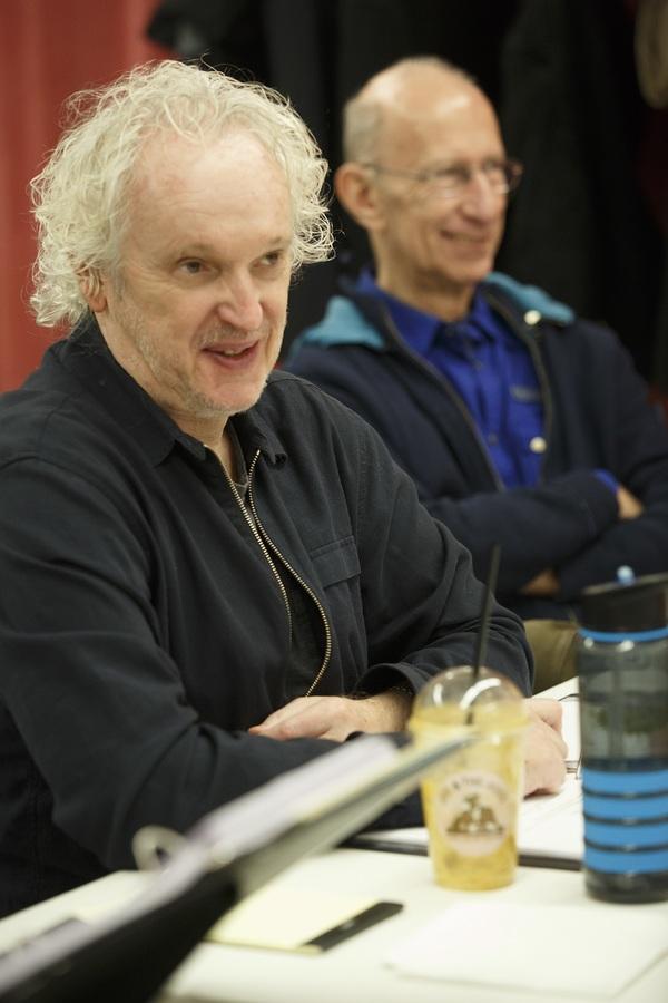 Director Sean Mathias and playwright Martin Sherman Photo