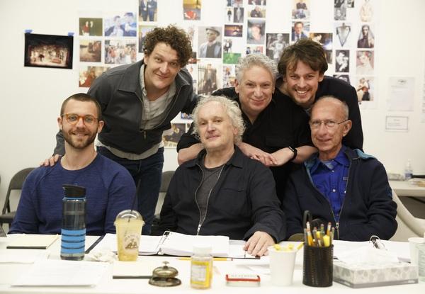 Assistant  David Nathan Perlow, Gabriel Ebert,  Sean Mathias, Harvey Fierstein, Christopher Sears, and Martin Sherman