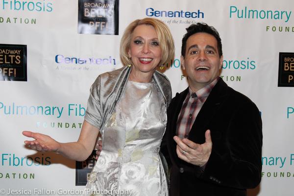 Julie Halston and Mario Cantone