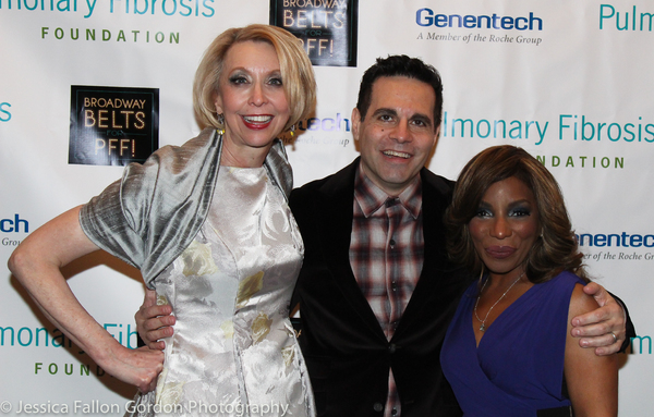 Julie Halston, Mario Cantone and Stephanie Mills