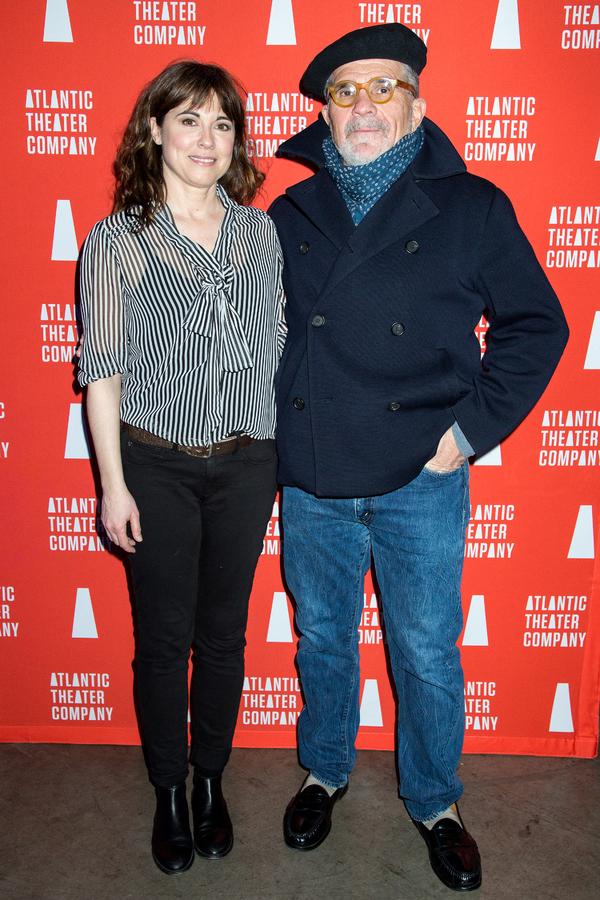 Rebecca Pidgeon, David Mamet