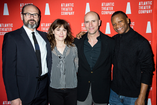 Chris Bauer, Rebecca Pidgeon, Jordan Lage, Lawrence Gilliard, Jr. Photo