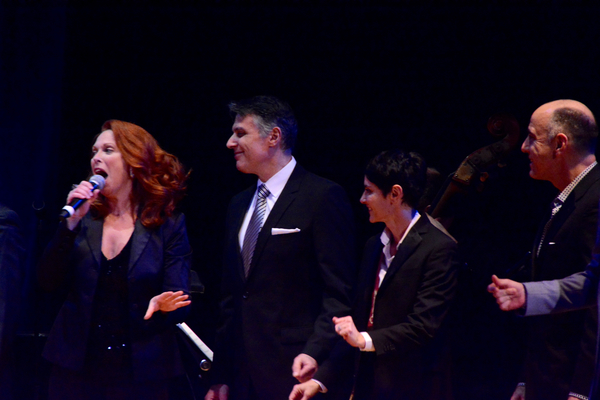 Carolee Carmello, Robert Cuccioli, Beth Malone and William Michals Photo