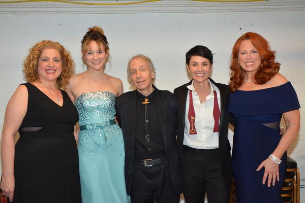 Mary Testa, Jill Paice, Scott Siegel, Beth Malone and Carolee Carmello