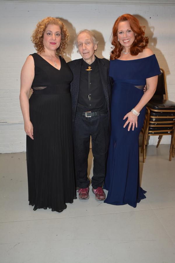 Mary Testa, Scott Siegel and Carolee Carmello