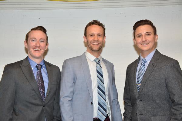 Brent McBeth, Danny Gardner and John Scacchetti