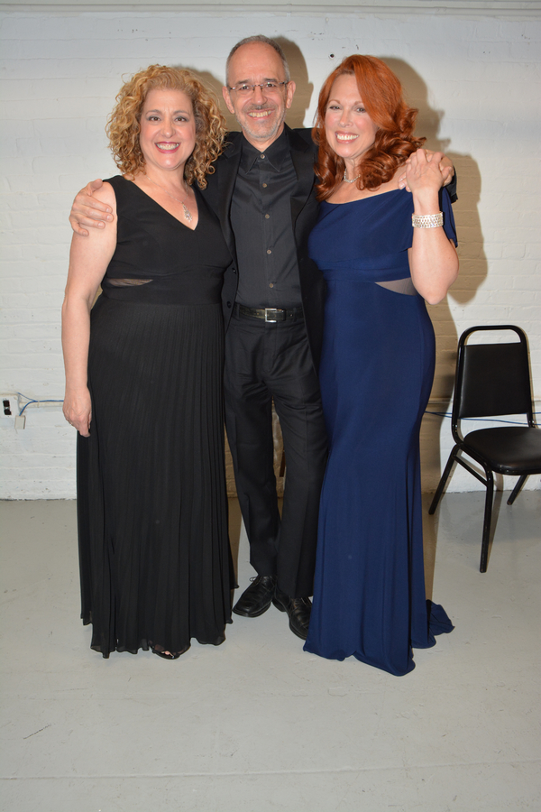 Mary Testa, Ross Patterson and Carolee Carmello