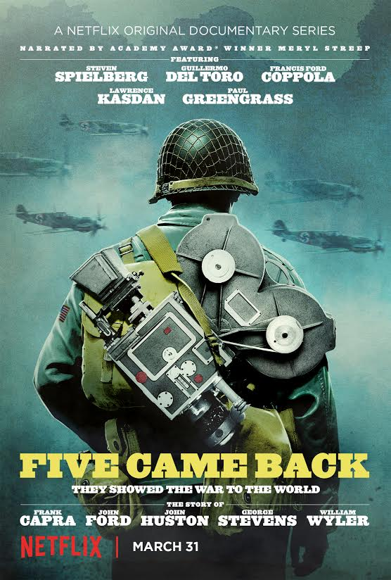 VIDEO: First Look - New Netflix Documentary Series FIVE CAME BACK