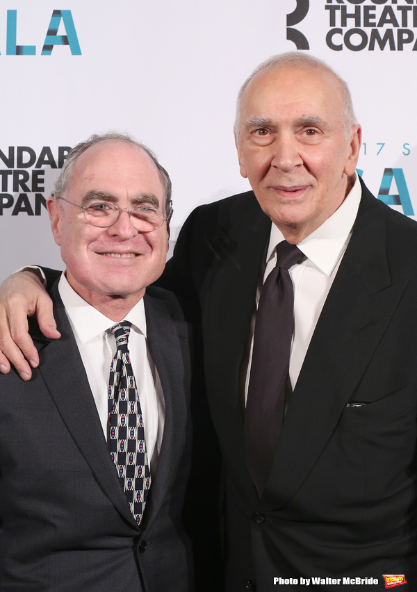 Todd Haimes and Frank Langella