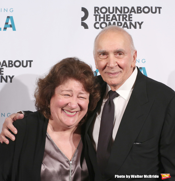 Margo Martindale and Frank Langella