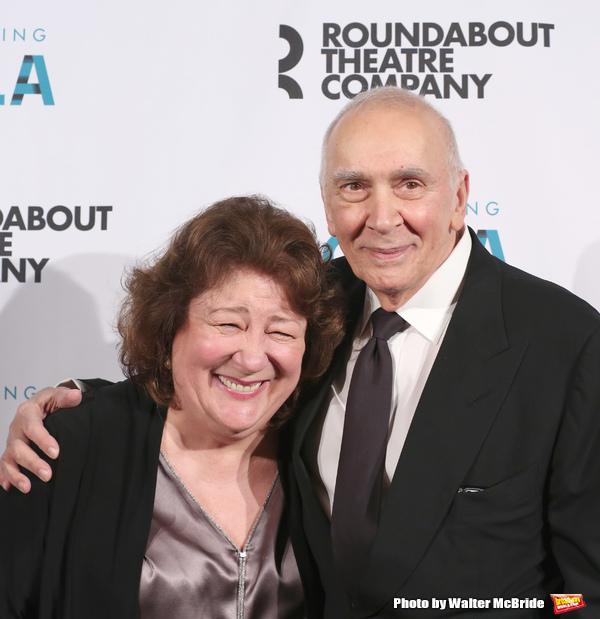Margo Martindale and Frank Langella