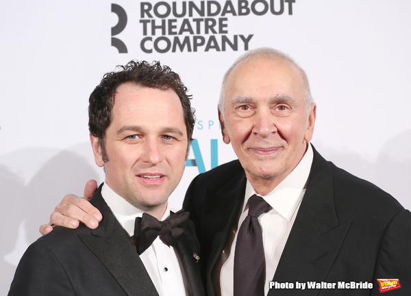 Matthew Rhys and Frank Langella