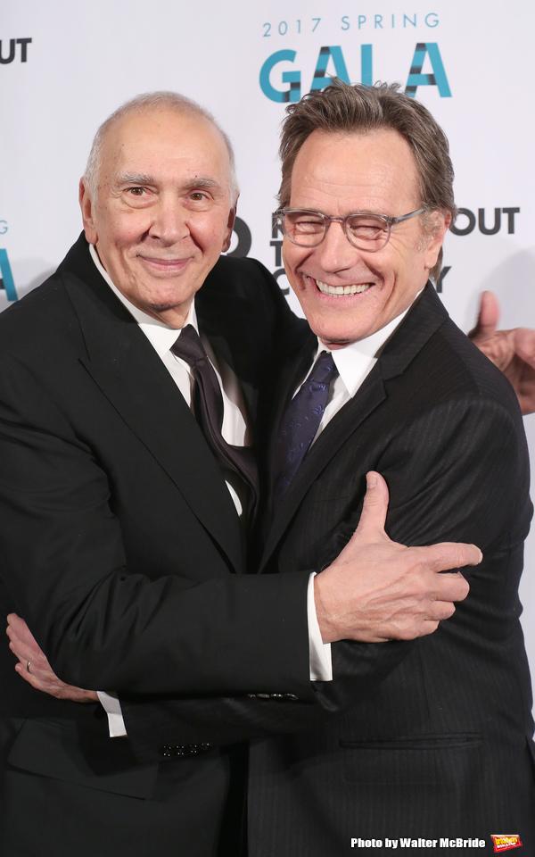 Frank Langella and Bryan Cranston
