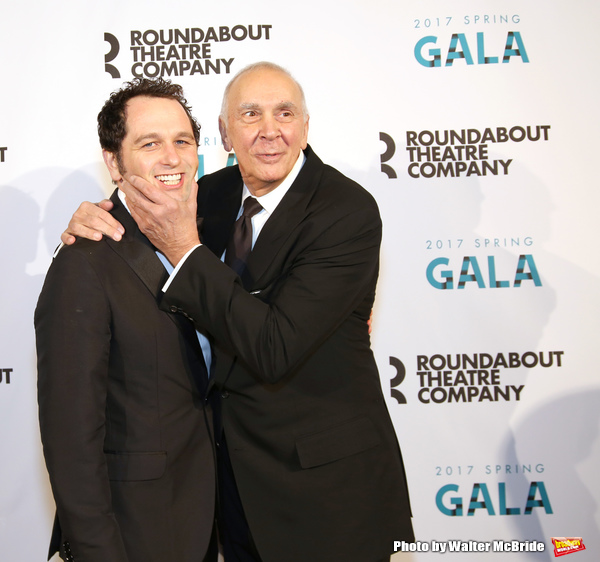 Matthew Rhys and Frank Langella  Photo