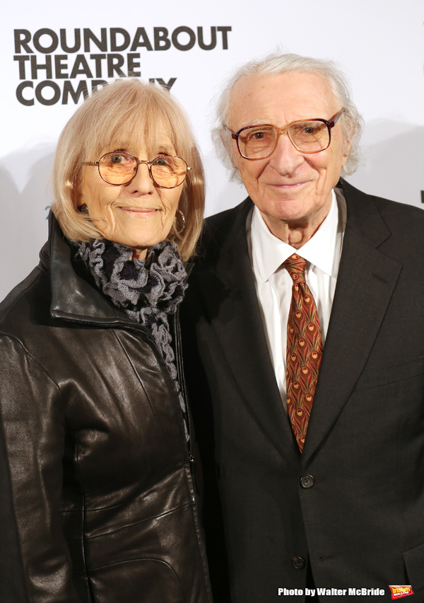 Margery Gray and Sheldon Harnick