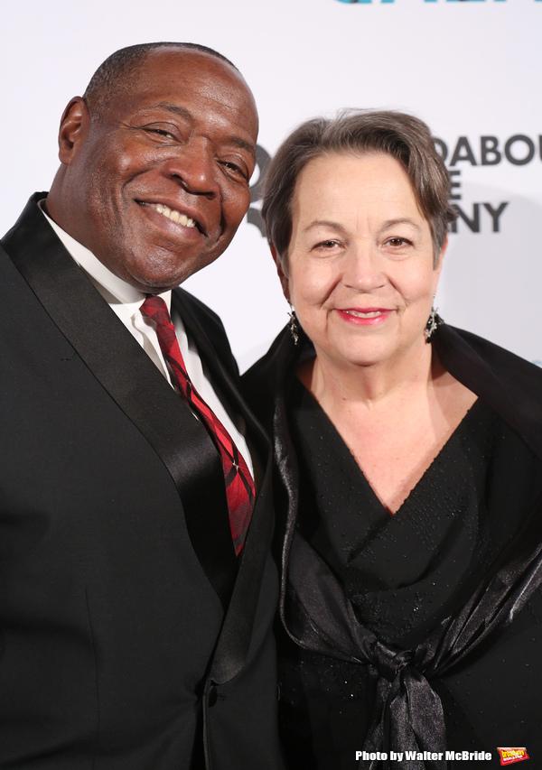 Chuck Cooper and Deborah Brevoort