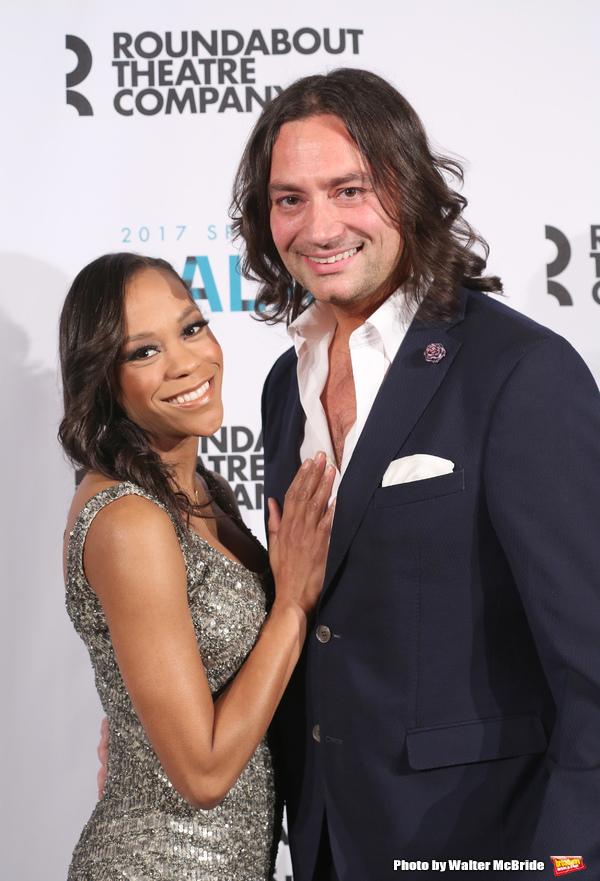 Nikki M. James and Constantine Maroulis