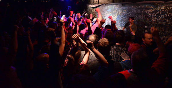 Photo Flash: The Neo-Futurists in Chicago, NYC and San Francisco Unveil Late Night Show THE INFINITE WRENCH
