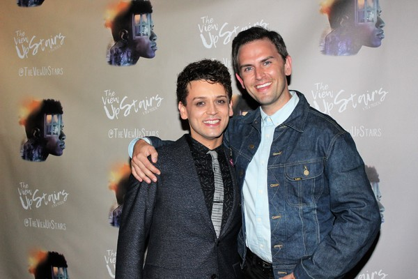 Michael Longoria and Daniel Reichard