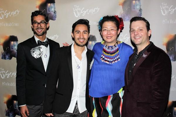Adam Honore, Brian Tovar, Anita Yavich and Scott Ebersold Photo