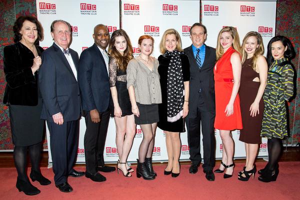 Lynne Meadow, John C. Vennema, Maurice Jones, Meghann Fahy, Penelope Skinner, Janie D Photo