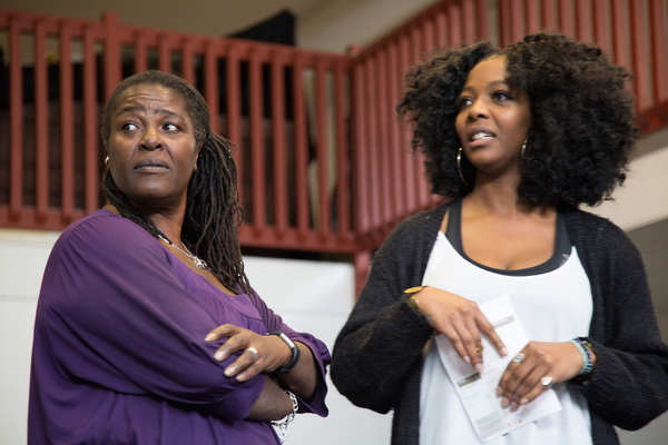 Photo Flash: Inside Rehearsal for THE LIFE at Southwark Playhouse