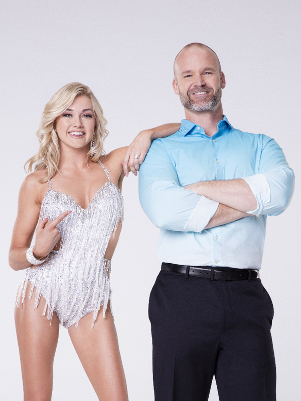 DAVID ROSS WITH LINDSAY ARNOLD  Photo