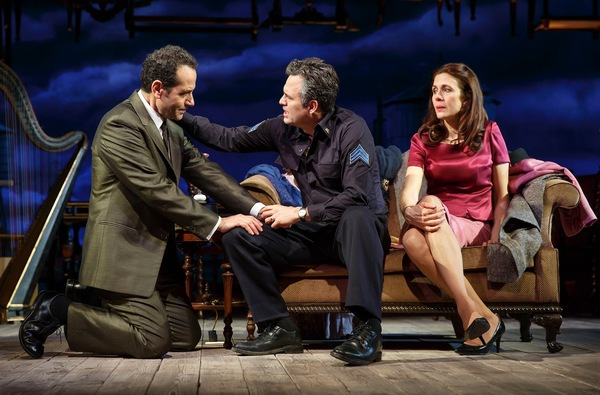 Tony Shalhoub, Mark Ruffalo and Jessica Hecht