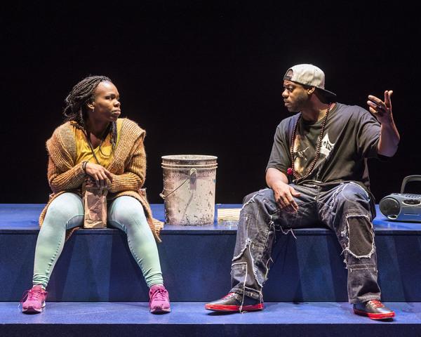 Ngozi Anyanwu and Marcus Henderson